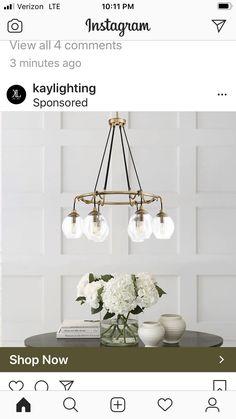 Mirror Shop, Interior Lighting, Light Fixtures, Chandelier, Ceiling Lights, Spaces, Home Decor, Candelabra, Decoration Home