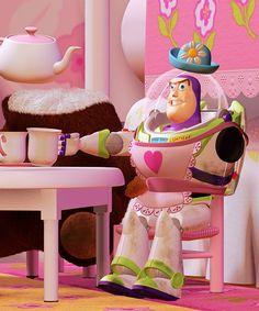 """I'm Mrs. Nezbitt."" This is my all time favorite Toy Story scene!"