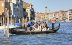 Great Ways To Commute To Work   Rough Guides Traghettos, Venice, Italy