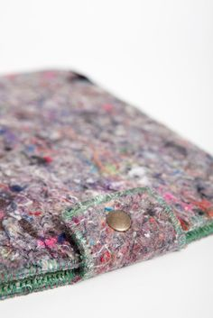 SHRED: Tech Cases Made from 100% Recycled Textile Waste in technology style fashion  Category