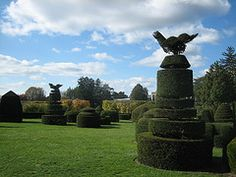 Topiary garden at Longwood Gardens, Kennett Square PA