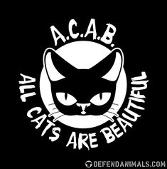Cat lovers · Cats Lovers · Defend Animals [Page Anarchist Tattoo, Arte Punk, Anarcho Communism, Anarcho Punk, Punk Tattoo, Stick And Poke, Donate To Charity, Traditional Tattoo, Kittens