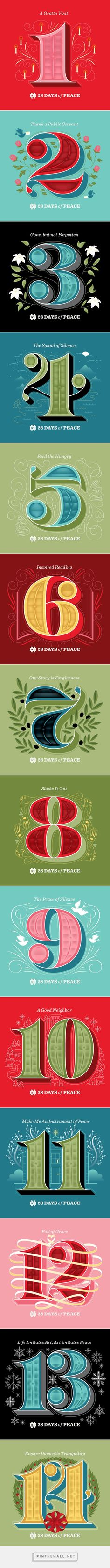 Jessica Hische - 28 Days of Peace - created via https://pinthemall.net