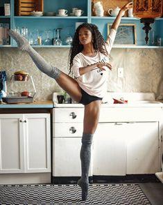 Afbeeldingsresultaat voor black ballerina dancer