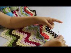 Kolay Bebek Battaniyesi Modeli ve Yapılışı - YouTube