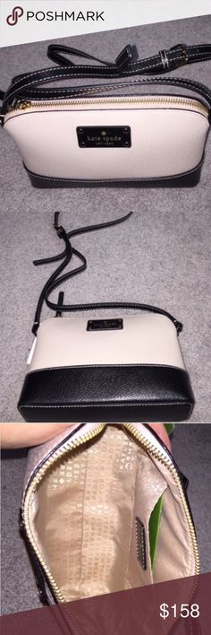 Kate Spade Hanna NWT Bag. Porcelain/Black. Kate Spade Hanna NWT Bag. Porcelain/Black.  NO TRADES. kate spade Bags