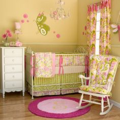 Pink Green Nursery Cute Http Withmemama