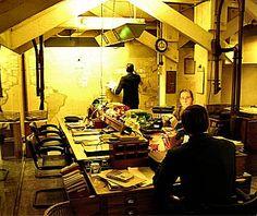 Map Room, Churchill War Rooms