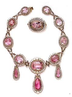 Jewelry,belonging to Queen Silvia of Sweden 1804