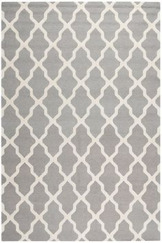 I love this gray rug from Rugs Direct.