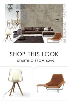 """Living sample 5"" by kalujak on Polyvore featuring interior, interiors, interior design, дом, home decor, interior decorating и Zanotta"