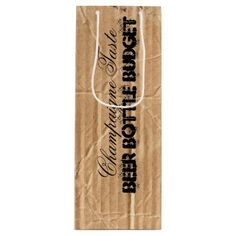 Worn Cardboard Your Funny Text Wine Gift Bag - click to get yours right now!