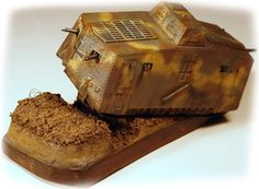 A7V - The First German Panzer - About Modelling Emhar's 1/72 Kit
