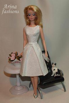 Silkstone Barbie in Arina fashions by arina_fashions, via Flickr