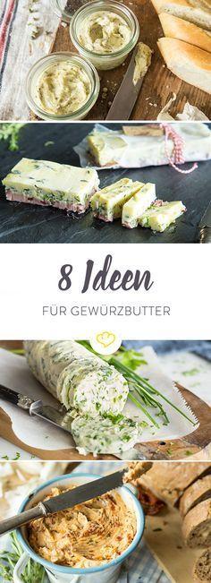 Leicht gesäuerte oder Süßrahm-Butter ist mit ihrem milden, sahnigen Geschmack was Feines. Für Hefeteig unverzichtbar. In Saucen satter Geschmacksträger. Und auf Steaks, Backkartoffeln und anderen Grillköstlichkeiten ein leckeres Goodie – erst recht, wenn du sie mit Kräutern oder Gewürzen verfeinerst. Wie es funktioniert und welche 8 Gewürzbutter-Ideen künftig auf deinem Tisch nicht fehlen dürfen, erfährst du hier.