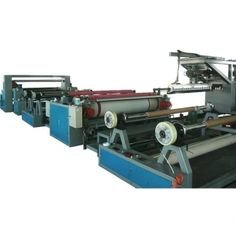 Dali Paper Laminating machine is a complete production line adopting cast film process to heat and extrude PE, EVA, TPR, PP, and other material, coat to substrates(base fabric), press and cool, finally take up in rolls. www.dali-plasticmachinery.com