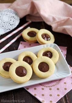Occhi di bue alla nutella Dulcisss in forno by Leyla