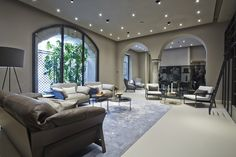 #sofa #livingroom #design #armchair #milan #ditreitalia #flagship