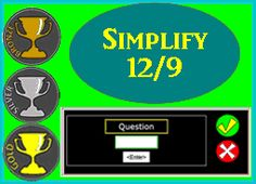 simplify fractions practice zone image                                                                                                                                                                                 More