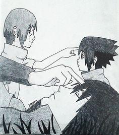My drawing - Itachi & Sasuke