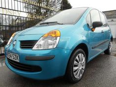 Used 2005 (54 reg) Blue Renault Modus 1.4 Expression 5dr [AC] [Euro 4] for sale on RAC Cars