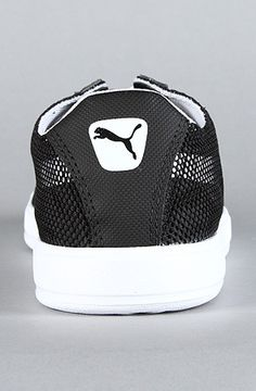 Puma The Bold Lite Low Sneaker in Black White