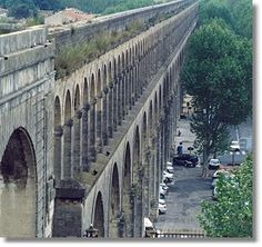 Aqueduct at Montpellier, France
