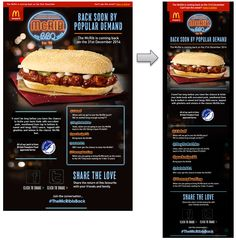 Great news! The McRIB is back