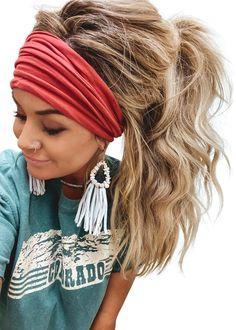 Work Hairstyles, Headband Hairstyles, Pretty Hairstyles, Everyday Hairstyles, Hairdos, Updos, Wedding Hairstyles, Wide Headband, Boho Headband
