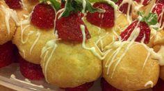 Strawberry Shortcake Kabobs . . .