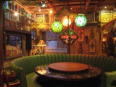 from tiki chick Tiki Art, Tiki Tiki, Deco Restaurant, Tiki Bar Decor, Tiki Lounge, Vintage Tiki, Tiki Torches, Tiki Room, Bars For Home