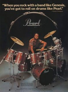 Pearl Drums - Chester Thompson