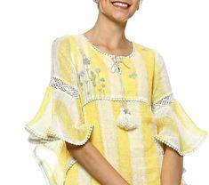 Kurti Neck Designs, Blouse Designs, Abaya Fashion, Fashion Outfits, Womens Fashion, Embroidery Suits Design, Kamiz, Indian Outfits, Kimono Top