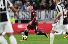 Daniele Baselli of Torino FC in action during the Serie A match between Juventus and Torino FC on September 23, 2017 in Turin, Italy.
