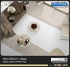 Digital Glazed Vitrified Tiles- Trend Collection & Perfect Style Statement for your Home as per your Expectations & Specifications Available At One Stop- Cengres Tiles Ltd.