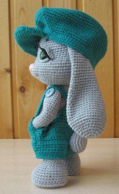Easter Crochet Patterns, Crochet Bunny Pattern, Crochet Patterns Amigurumi, Amigurumi Doll, Crochet Dolls, Crochet Baby, Amigurumi Tutorial, Stuffed Animal Patterns, Stuffed Animals