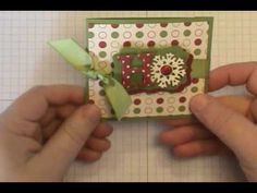 Ho Ho Ho Gift Card Holder - I would probably add a ribbon on top to pull out and keep inside...