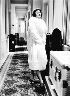 "hepburndeneuvekelly: "" Audrey Hepburn on the set of ""Love in the Afternoon"" in…"