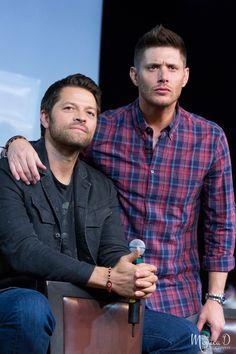 Jensen and Misha.