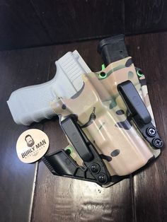 Fits Glock 19 G19 Multicam Zombie Green Kydex SideCar Holster IWB Raven  Claw   eBay d38b4e30ad2