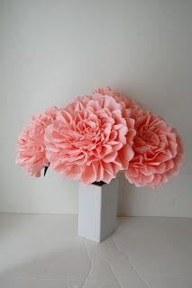 large giant paper flowers | Handmade Flowers