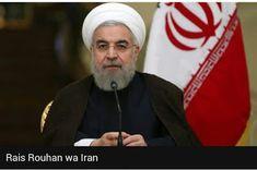 Rais wa Iran Hassan Rouhani amesema rais wa Marekani ni adui mkuu wa taifa hilo kuanzia utosini hadi kwenye unyayo. Ameyasema hayo akijib...