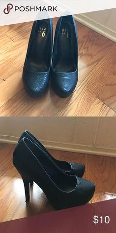 Black heels! Mix No. 6 black heels! Mix No. 6 Shoes Heels
