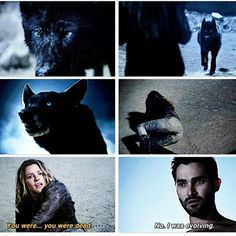 """Teen Wolf S4 Ep12 """"Smoke and Mirrors"""" - Derek and Kate"""