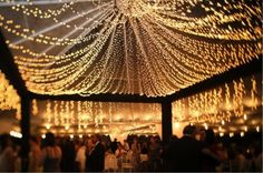 Fairy Light Tent