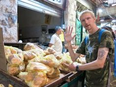 Friday's Featured Food: Browsing in the Mahaneh Yehuda Market ...