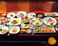 Full Course Korean Food for party/special occasions - photo