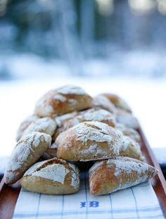 kalljäst bröd m morötter och råg