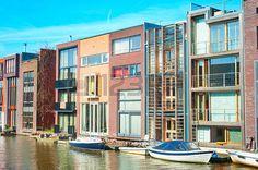 Afbeeldingsresultaat voor amsterdamse grachtenpanden modern