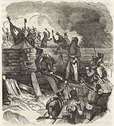 March 27, 1814: In the Battle of Horseshoe Bend, Andrew Jackson leads a force of Americans, Creeks, and Cherokees against Red Stick Creeks. Attacking the Red Stick stronghold of Tohopeka on the banks of the Tallapoosa River, Jackson's men killed more than 900 people. The victory soon led to the end of the Creek War and the cession of 23 million acres of Creek territory to the United States.